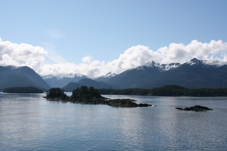 Arriving in Sitka