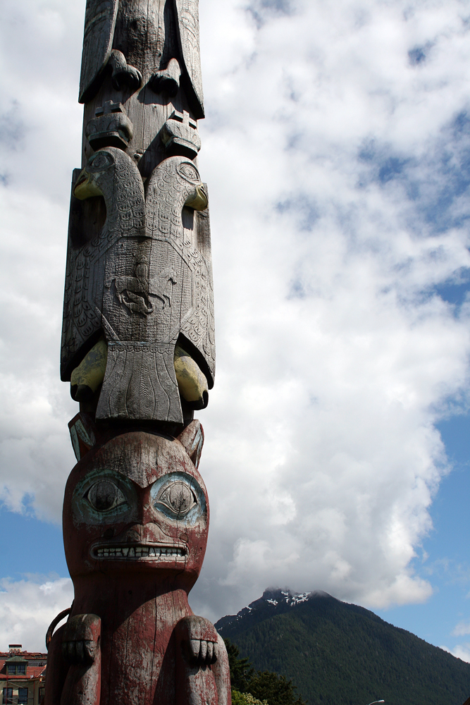 One of many of Alaska's totems